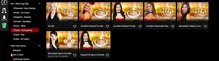 12Topaz – Microgaming - 12bet casino trực tuyến