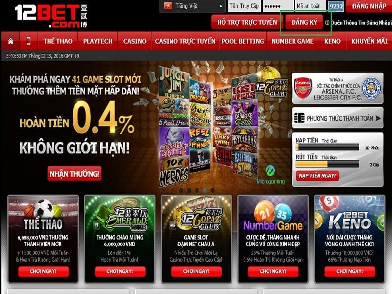 Casino trực tuyến uy tín 2022