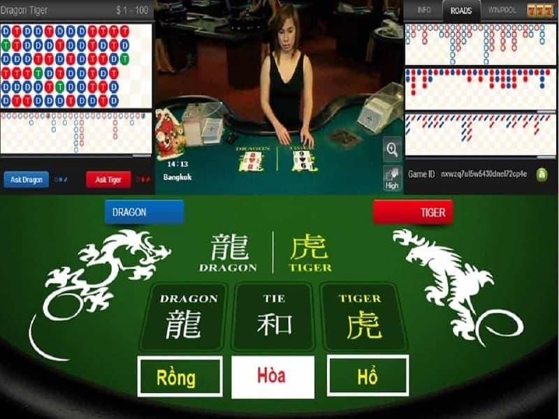 game bài Dragon Tiger 12bet
