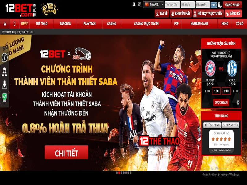 cá cược thể thao trực tuyến