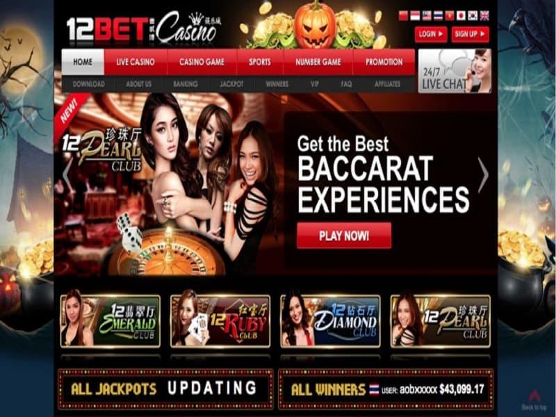 casino 12bet uy tín