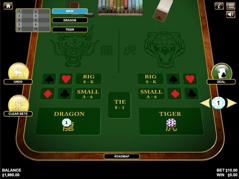 Dragon Tiger trực tuyến và những ưu điểm