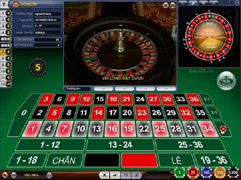 mẹo chơi game roulette